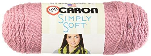 Caron Simply Soft Yarn, 6 Ounces/315 Yards, Plum Wine