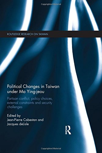 Political Changes in Taiwan Book Jacket