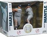 Mickey Mantle/Roger Maris Sports Picks Major League Baseball Action Figures Box Set of 2
