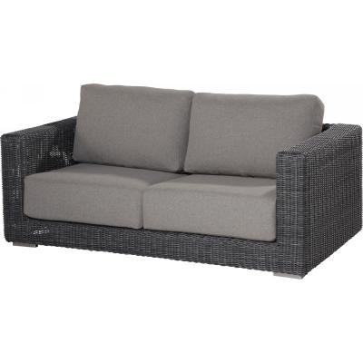 4 Seasons Outdoor Somerset Sofa 2.5-Sitzer Polyrattan charcoal