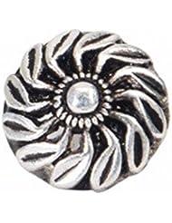 Moha 925 Sterling Silver Maya Piercing Nose Pin For Women