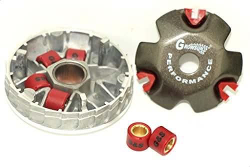 Gy6 Variator Kit Scooters Mopeds 50cc 139qmb 49 50cc Performance 8 Gram Rollers