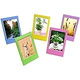 Sunmns Desk Photo Frame For Fujifilm Instax Mini 8/ 8+/ 70/ 7s/ 90/ 25/ 50s Film, 5 Piece