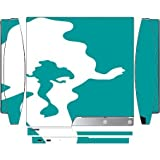 Cute The Little Mermaid Blue Silhouette Design Print Image Playstation 3 & PS3 Slim Vinyl Decal Sticker Skin by Trendy Accessories