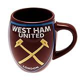 West Ham United FC Football Team Tea Tub Shaped Ceramic Mug