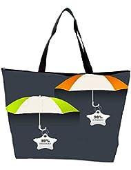 Snoogg Abstract Rainy Season Background Waterproof Bag Made Of High Strength Nylon