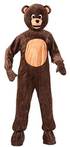 Brown Bear Mascot Costume Teen