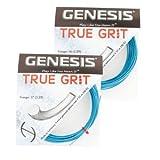 Genesis True Grit Tennis Racquet String Set - Guage 16, Metallic Blue By Genesis