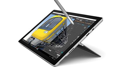 "Microsoft Surface Pro 4 - Tablet de 12.3"" (4.5 W, 4 GB de RAM, 128 GB, Wi-Fi, Windows 10 Pro), plata"