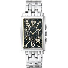 SONNE (ゾンネ) 腕時計 RECTANGLE レクタングル ブラック S046G メンズ