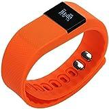 TW64 Smart Watch - SODIAL R Bluetooth Smart Wristband Watch Bracelet Sports Pedometer TW64 Orange