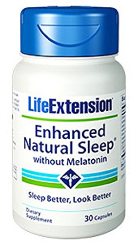 Life Extension Enhanced Natural Sleep without Melatonin