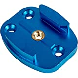 Baoblae 1/4'' Threaded Quick Release Tripod Mount Base For GoPro Hero Sports Camera Blue