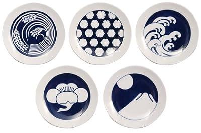 KIHARA KOMON 豆皿5枚揃 季節柄
