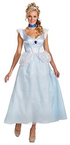 Halloween 2017 Disney Costumes Plus Size & Standard Women's Costume Characters - Women's Costume Characters Women's Princess Cinderella Deluxe Disney Theme Party Halloween Costume, Plus Size