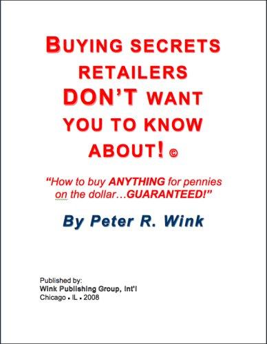 Buying Secrets of Retailers