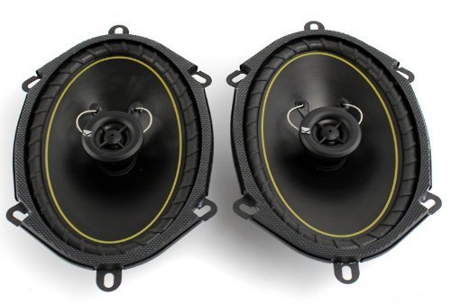 "2 Pairs KICKER DS68 6x8"" 2-Way Coaxial Car Audio Speakers 280 Watts Total 11DS68"