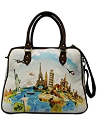 Digitally Printed Multi Stylish Cabin Carry Bags With Multi Pocket - B01ICTCWD8