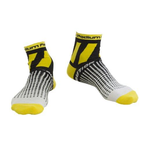 Podium Feet Men's Caution Tape Socks