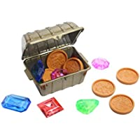 Pool Dive Toy Set - Large Jewels And Coins - Pool Treasure Hunt Game - Perfect For Water Table Play Also