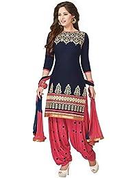 Shiroya Brothers Women's Cotton Printed Unstitched Regular Wear Salwar Suit Dress Material - B06Y28TLS4