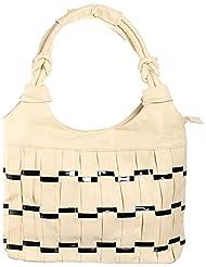 Sakushi Women's Handbag (Off-white, NG 00030 A)