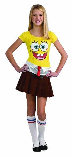 Spongebob Costume, Teen Sponge Babe