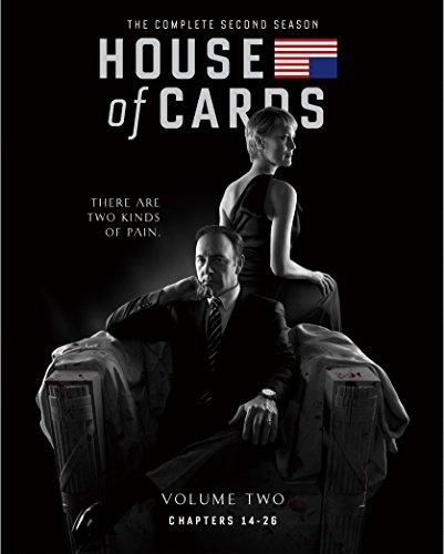 ハウス・オブ・カード 野望の階段 SEASON 2 Blu-ray Complete Package (デヴィッド・フィンチャー完全監修パッケージ仕様)