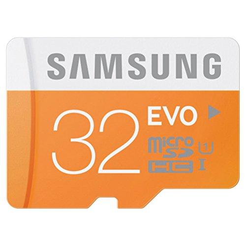 microSDカード 32GB SAMSUNG EVO Class10 UHS-I対応 (最大転送速度48MB/s) 10年保証 MB-MP32D/FFP 【日本サムスン正規品】