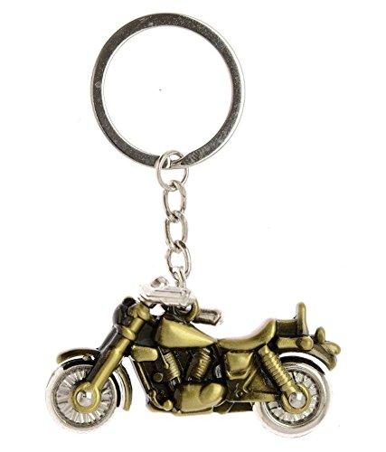 PARRK Gold Metal Harley Bike Keychain