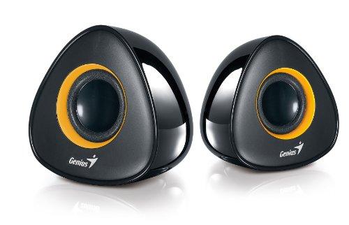 Genius SP-U150X USB Stereo Speakers - Black SP-U150X Black Yellow