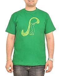 Stallion Cottons Men's Round Neck Cotton T-Shirt - B00ZIHSXOA