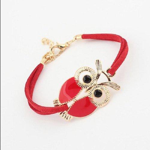 Amazon: Red Owl Decoration Fau...