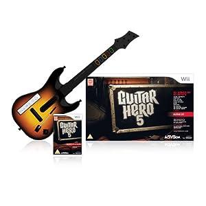 Guitar Hero 5 - Guitar Bundle (Wii): Amazon.co.uk: PC ...