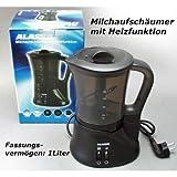 Milchaufschäumer mit Heizfunktion 1L 550W Milchschäumer ...