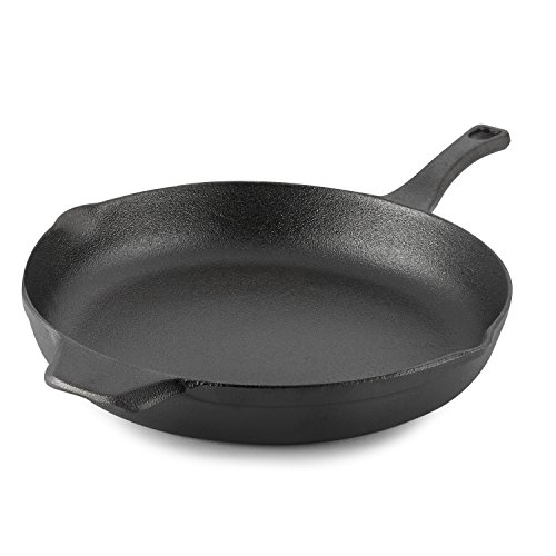 Calphalon Pre-Seasoned Cast Iron Cookware, Skillet, 12-inch