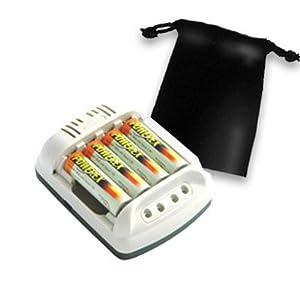 Amazon.com: MAHA MH-C401FS 100 min AA / AAA Battery