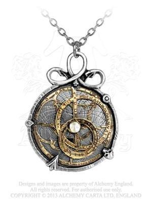 Astrolabe Pendant Necklace