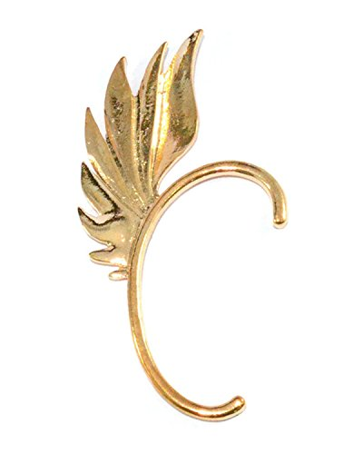 Young & Forever Angel Wing Golden Ear Cuff Earring (Single Piece) By CrazeeMania
