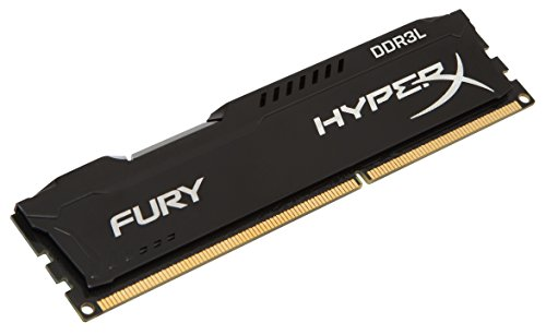 Kingston Technology HyperX FURY 8GB 1866MHz DDR3L CL11 DIMM 1.35V Low Voltage Desktop Memory HX318LC11FB 8