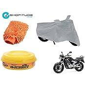 ESHOPITUDE-Bike & Car Cleaning & Utility Combo Set Of 3-Yamaha YBR