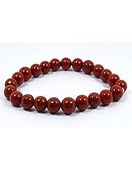 Reiki Crystal Products Red Red Jasper Crystal Bracelet For Unisex