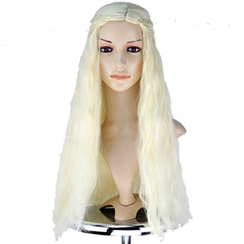 Daenerys Targaryen Wig Hair Accessories For Cosplay Costume
