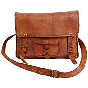 Pranjals House Vintage Handmade Brown Leather Sling Bag