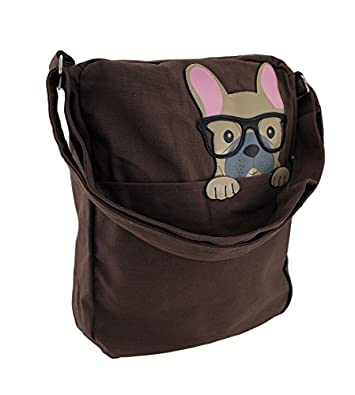 french bulldog purse sleepyville critters peeping french bulldog canvas cross 7761