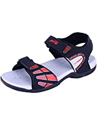 Pro (from Khadims) Mens Faux Leather Floater Sandals