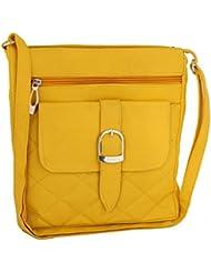 Sukkhi Unique Yellow Cross-Body Sling Bag BW1003SLD1150