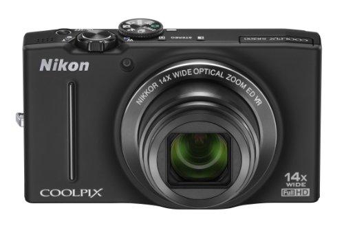 Nikon デジタルカメラ COOLPIX (クールピクス) S8200 ノーブルブラック S8200BK