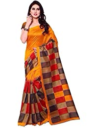 Sarees (Women Party Wear Offer Designer Sarees New Collection Today Low Price Sarees In Multi-coloured Art Silk...