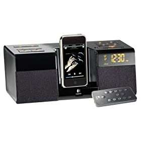 Logitech Pure-Fi Anytime Premium Alarm Clock for iPod and iPhone